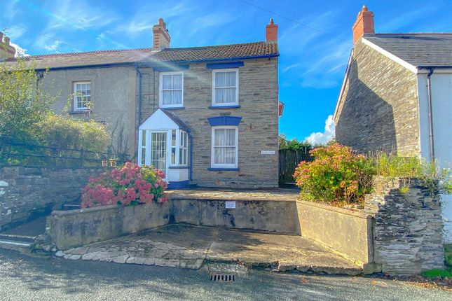 4 bed semi-detached house for sale in Castle Square, Cilgerran, Cardigan SA43
