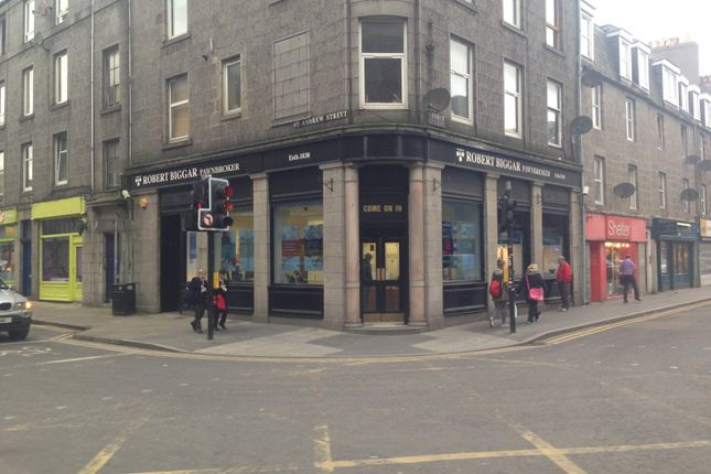 Thumbnail Retail premises to let in 171 George Street, Aberdeen