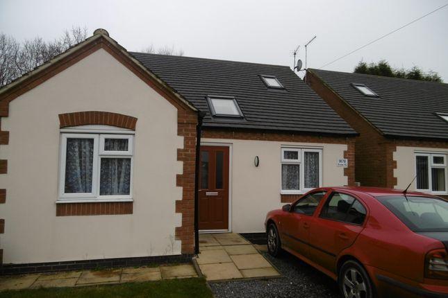 Thumbnail Detached bungalow to rent in Bardon Road, Coalville