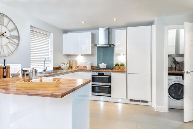 """Kitchen of """"Chester"""" at Glebe Road, Loughor, Swansea SA4"""