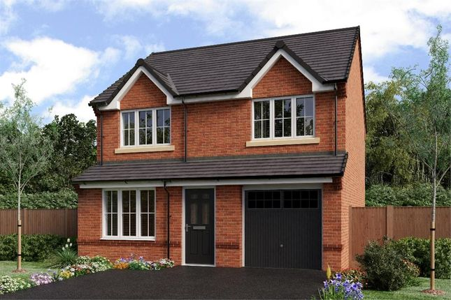 "Thumbnail Detached house for sale in ""The Larkin"" at Netherton Colliery, Bedlington"