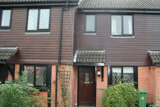 Thumbnail Terraced house to rent in Deans Court, Windlesham, Surrey