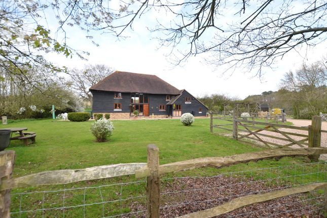 Thumbnail Equestrian property for sale in Water Lane, Hawkhurst, Cranbrook