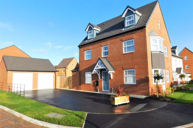 Thumbnail Detached house for sale in Plover Green, Mallard Walk, Stafford
