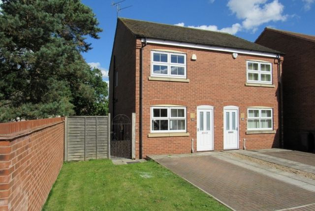2 bed semi-detached house to rent in Mercury Close, North Hykeham, Lincoln