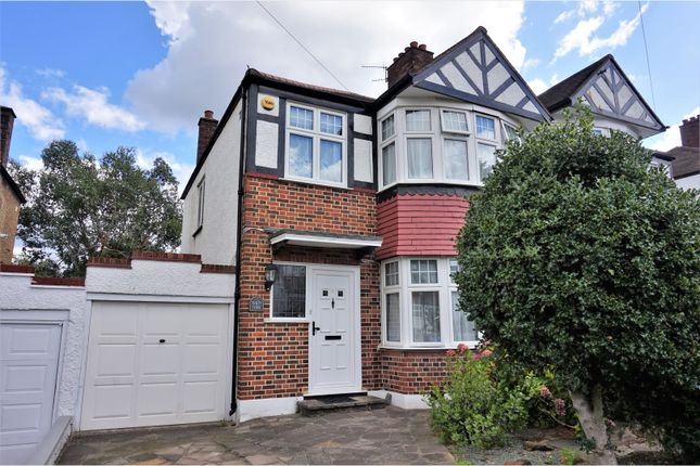 Thumbnail Semi-detached house for sale in Court Road, South Norwood