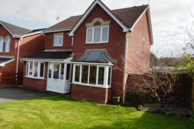 Thumbnail Detached house for sale in Mellor Drive, Uttoxeter