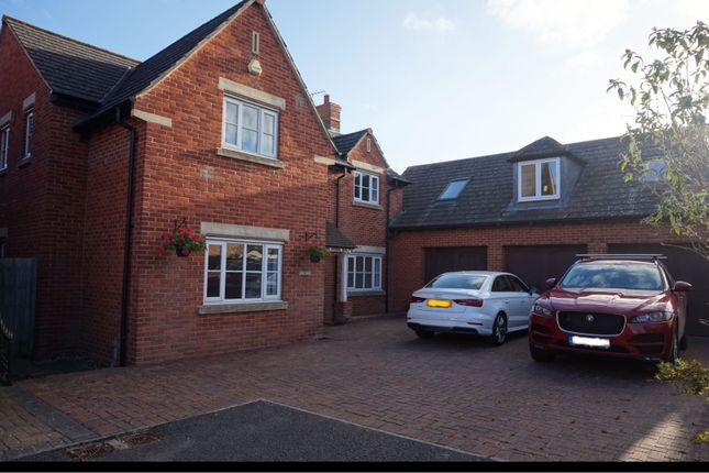 Thumbnail Detached house to rent in Fair Close, Rugby