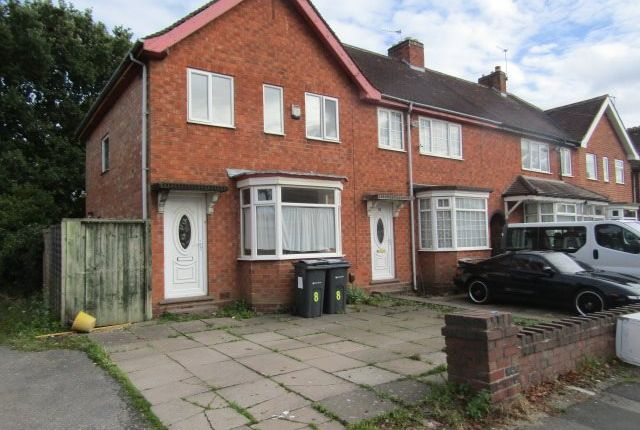 3 bed end terrace house to rent in Gracemere Crescent, Hall Green, Birmingham B28