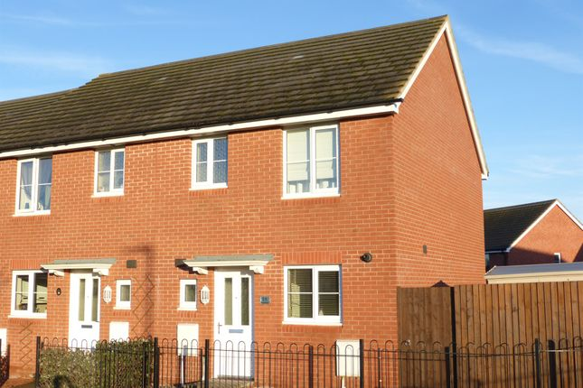 3 bed semi-detached house for sale in Bluebell Walk, Saxon Gate, Hereford