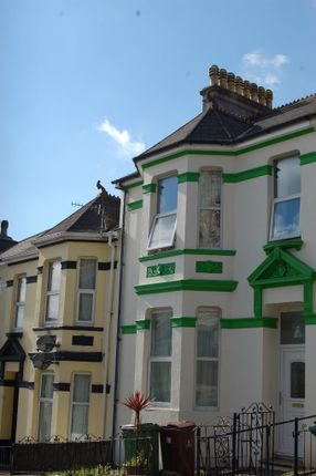 Thumbnail Town house to rent in Seymour Avenue, St Judes, Plymouth