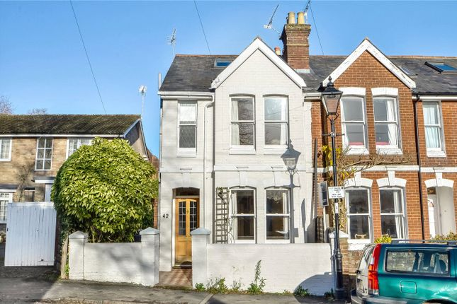 Thumbnail End terrace house to rent in Arthur Road, Winchester, Hampshire