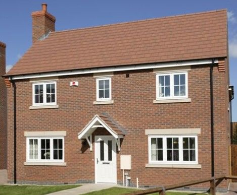 Thumbnail Detached house for sale in Off Cropston Road, Anstey