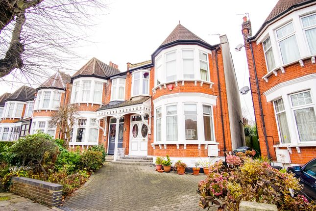 Thumbnail Semi-detached house for sale in Amberley Road, Winchmore Hill