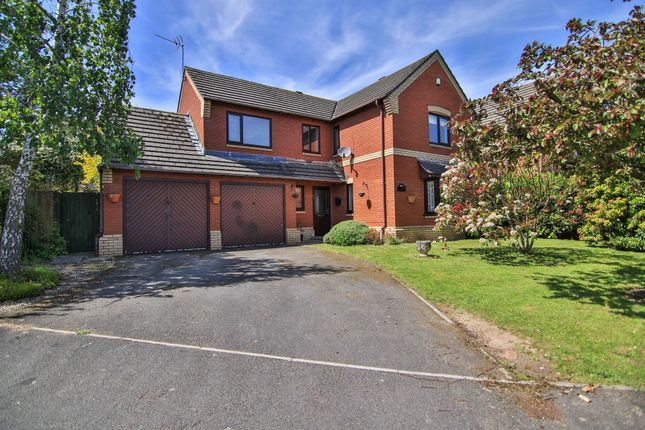Thumbnail Detached house for sale in Martins Road, Caerwent, Caldicot
