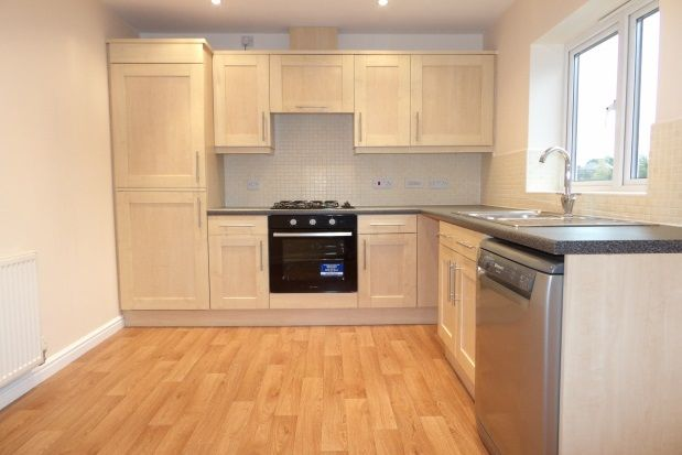 Thumbnail Flat to rent in Heathfield Way, Mansfield