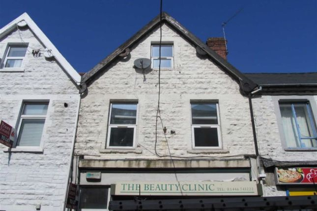 Thumbnail Maisonette to rent in High Street, Barry, Vale Of Glamorgan