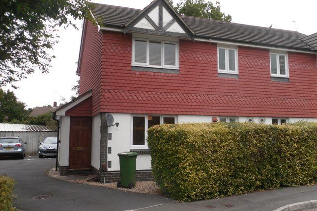 Thumbnail Terraced house to rent in Haining Gardens, Mytchett, Camberley