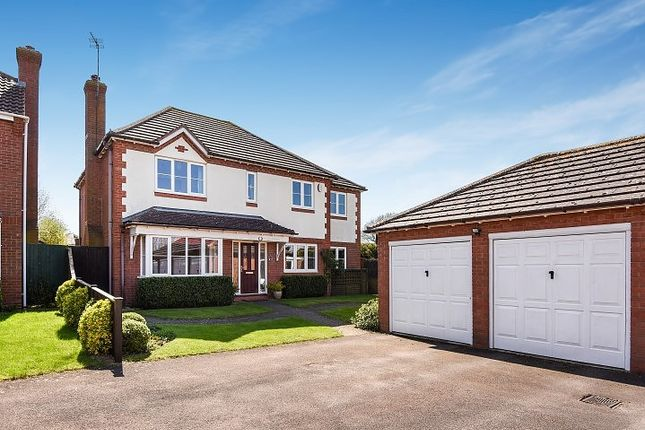 Thumbnail Detached house for sale in Passey Crescent, Benson