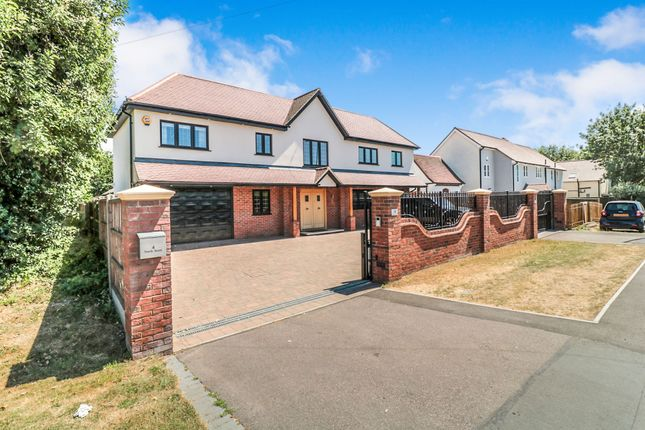 Thumbnail Detached house for sale in North Street, Nazeing, Waltham Abbey