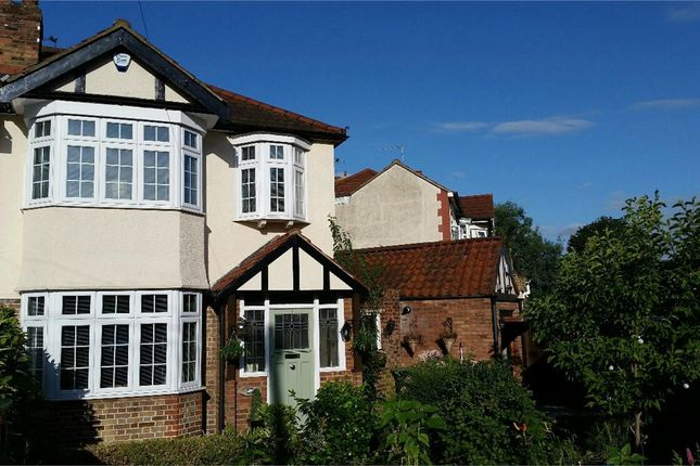 Thumbnail Semi-detached house for sale in Pevensey Avenue, Enfield, Middx