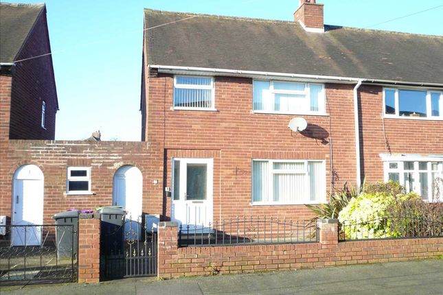 Thumbnail Semi-detached house for sale in Meredith Road, Wednesfield, Wednesfield