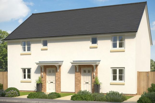 """Thumbnail Terraced house for sale in """"Bonnyton"""" at South Larch Road, Dunfermline"""