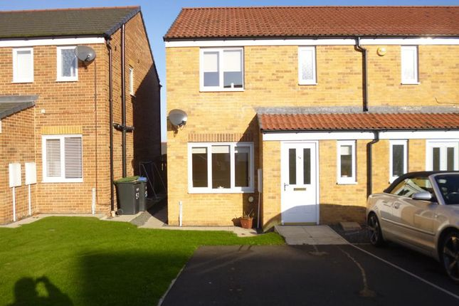 Thumbnail Semi-detached house for sale in Dixon Way, Coundon, Bishop Auckland