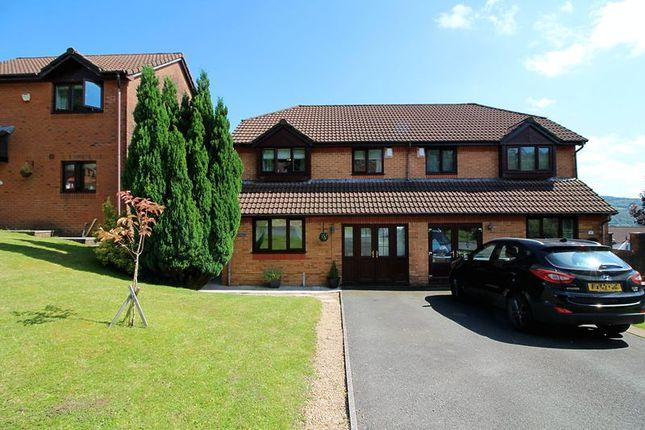 Thumbnail Semi-detached house for sale in Heol Pen-Y-Parc, Coed-Y-Cwm, Pontypridd