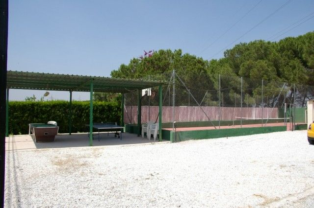 Tennis Court And Games Area