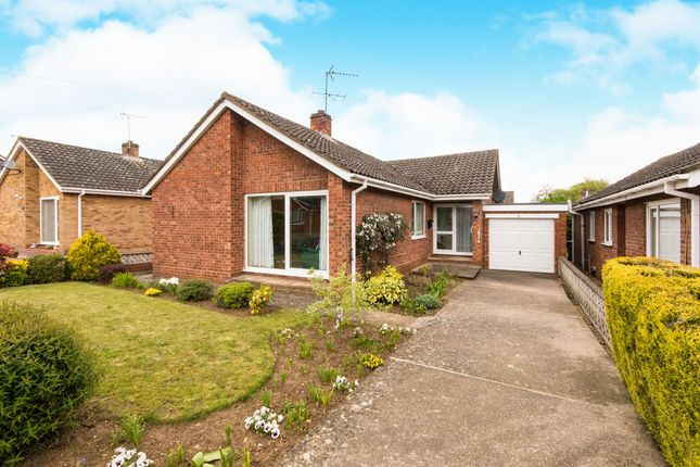 Thumbnail Detached bungalow for sale in Cornus Close, Branston, Lincoln