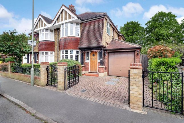 Thumbnail Semi-detached house for sale in Fontmell Park, Ashford