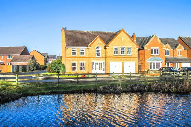 Thumbnail Detached house for sale in Swan Drive, Watermead Grange, Walsall