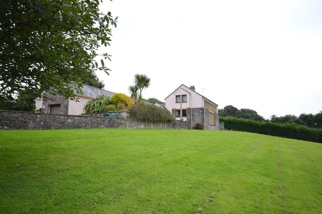 Thumbnail Detached house for sale in Lamphey, Pembroke