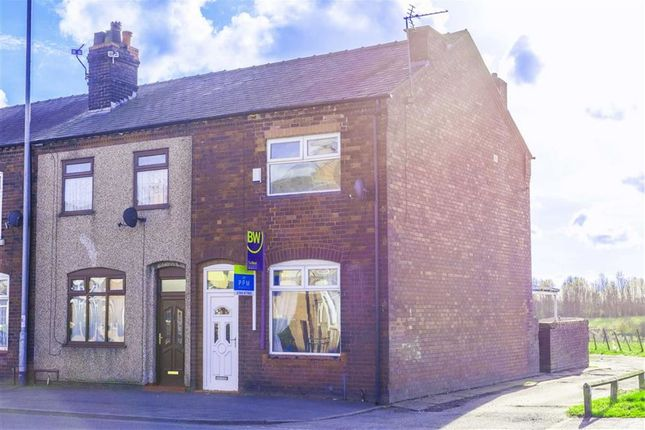 Thumbnail End terrace house to rent in Kirkhall Lane, Leigh, Lancashire