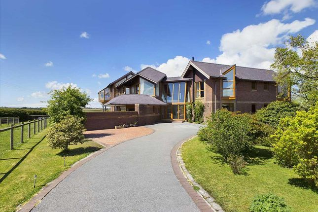 Thumbnail Detached house for sale in Gwel Eryri, Llangwyllog, Anglesey