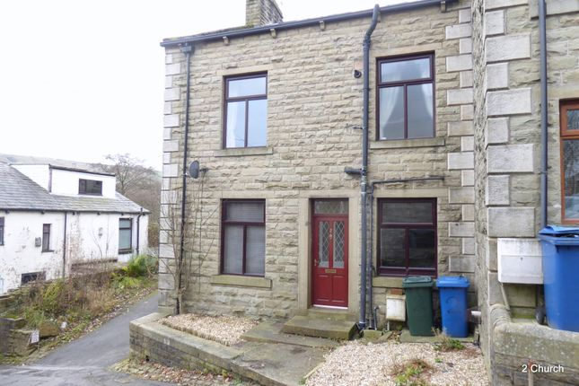 Thumbnail End terrace house to rent in Church Street, Stacksteads, Rawtenstall