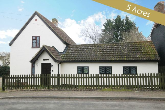 Thumbnail Cottage for sale in Keysoe Road, Thurleigh, Bedford