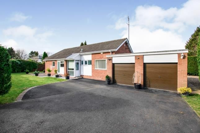 Thumbnail Bungalow for sale in Woodlands, Darras Hall, Ponteland, Northumberland