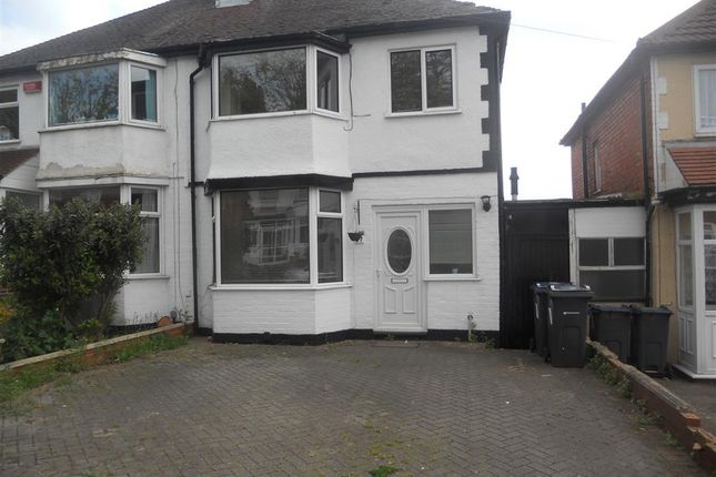 Thumbnail Property to rent in Anstey Road, Birmingham