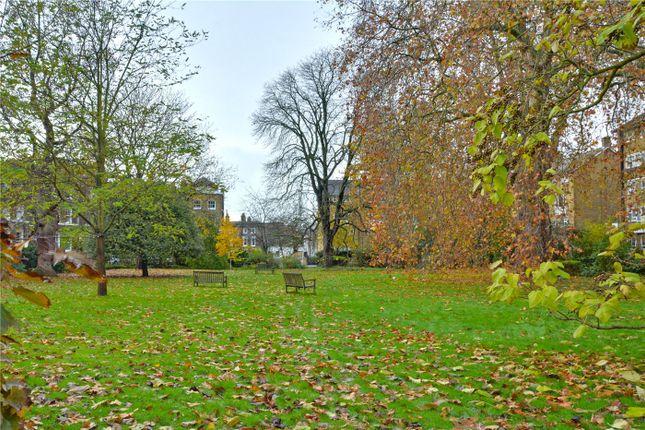 Communal Gardens of Gloucester Circus, Greenwich, London SE10