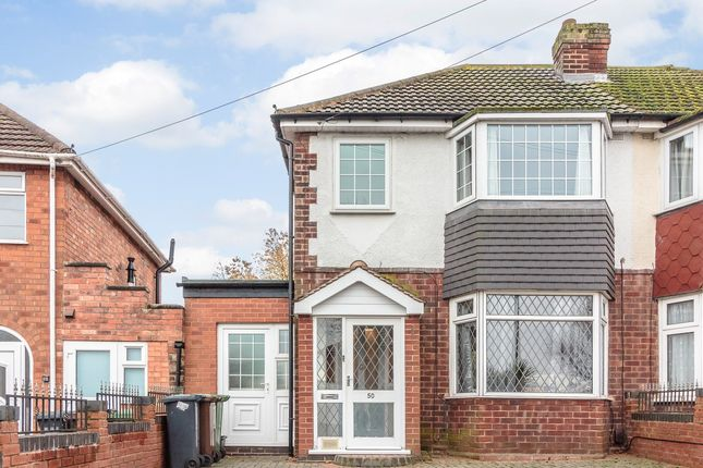 Thumbnail Semi-detached house for sale in Irving Road, Solihull, West Midlands