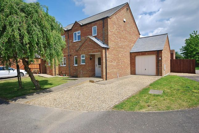 Thumbnail Semi-detached house for sale in Jubilee Close, Sutton St. James, Spalding
