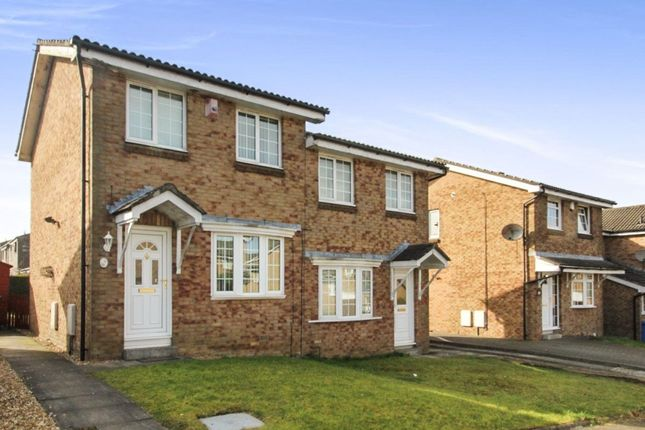 Thumbnail Semi-detached house to rent in Beechwood Park, Uphall Station, Livingston