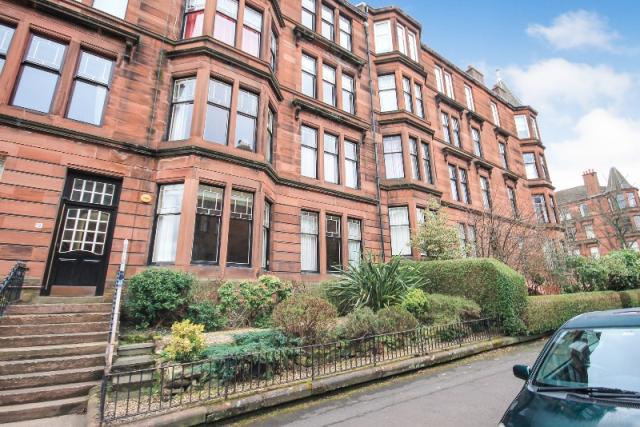 Thumbnail Flat to rent in Falkland Street, Hyndland, Glasgow, 9Py