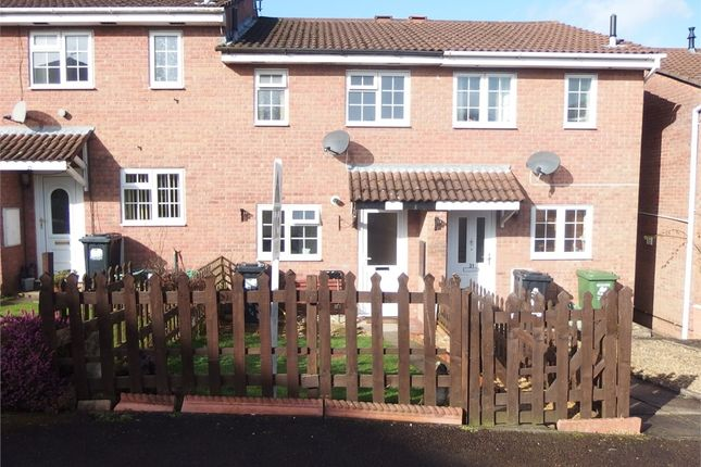 Thumbnail Terraced house to rent in Ironstone Close, Bream, Lydney, Gloucestershire