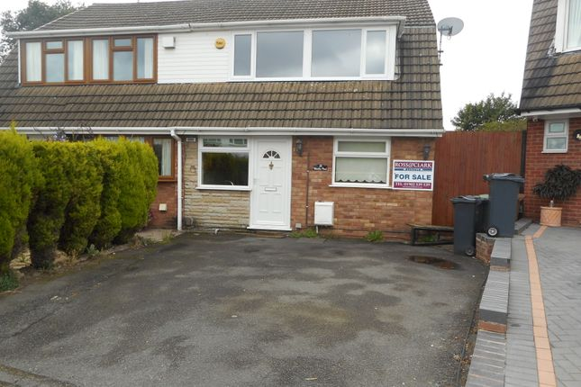 Thumbnail Semi-detached house for sale in Watkins Road, Willenhall, Wolverhampton