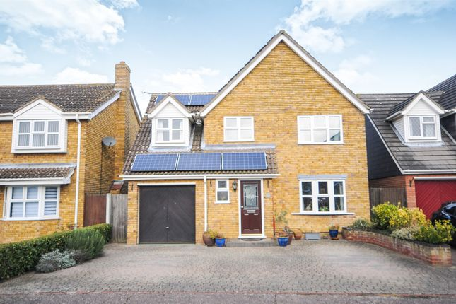 Thumbnail Detached house for sale in Barnaby Rudge, Chelmsford