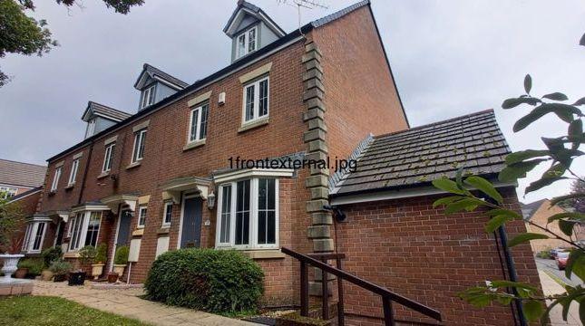 Thumbnail End terrace house for sale in Denbeigh Court, Hirwaun, Aberdare