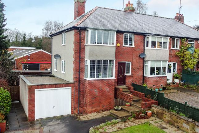 Thumbnail End terrace house for sale in Carr Bank, Otley